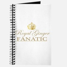 Royal Ginger Fanatic Journal