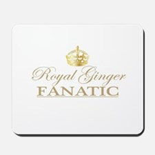 Royal Ginger Fanatic Mousepad