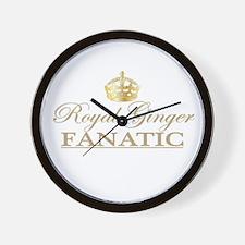 Royal Ginger Fanatic Wall Clock
