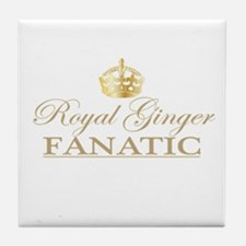 Royal Ginger Fanatic Tile Coaster