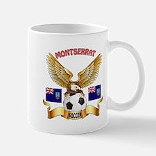 Montserrat Football Design Mug