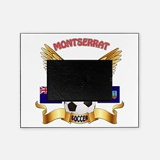 Montserrat Football Design Picture Frame