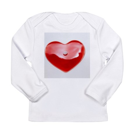Unhealthy heart - Long Sleeve Infant T-Shirt
