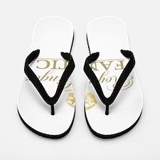 Royal Ginger Fanatic Flip Flops