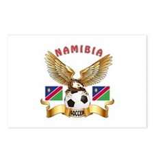 Namibia Football Design Postcards (Package of 8)
