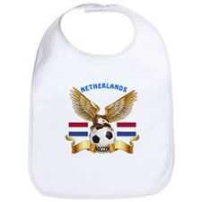 Netherlands Football Design Bib