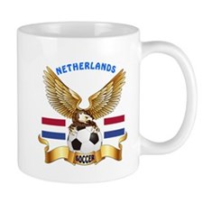 Netherlands Football Design Mug