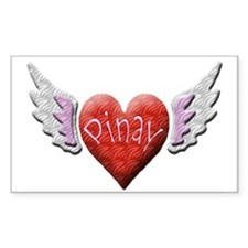 Pinay Angel Rectangle Decal