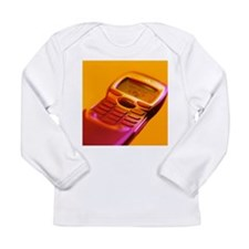 WAP mobile telephone - Long Sleeve Infant T-Shirt