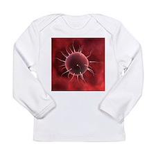 Fertilisation, artwork - Long Sleeve Infant T-Shir