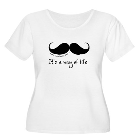 More than facial hair... Women's Plus Size Scoop N