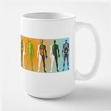Human anatomy ,artwork - Large Mug