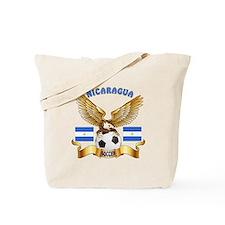 Nicaragua Football Design Tote Bag