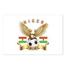 Niger Football Design Postcards (Package of 8)