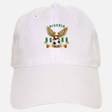 Nigeria Football Design Baseball Baseball Cap