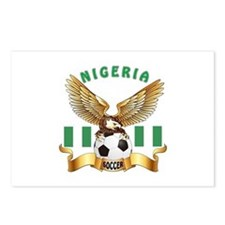 Nigeria Football Design Postcards (Package of 8)