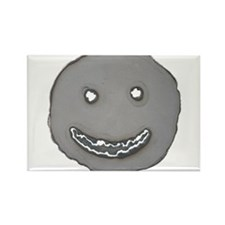 Grinning face cut from steel Magnets