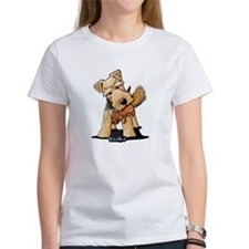 Welsh Terrier With Squirrel Tee