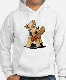 Welsh Terrier With Squirrel Hoodie