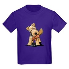 Welsh Terrier With Squirrel T