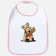 Welsh Terrier With Squirrel Bib
