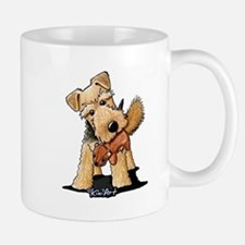 Welsh Terrier With Squirrel Mug