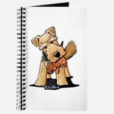 Welsh Terrier With Squirrel Journal