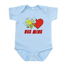 Bee Mine Valentine Infant Bodysuit