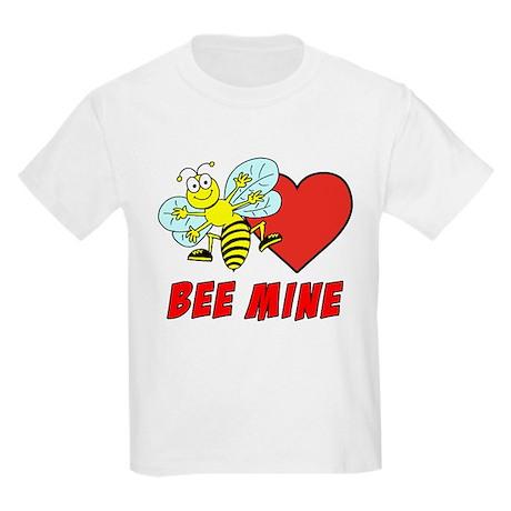 Bee Mine Valentine Kids Light T-Shirt