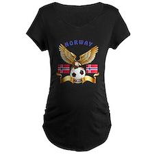 Norway Football Design T-Shirt