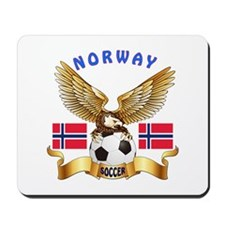 Norway Football Design Mousepad