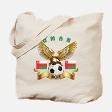 Oman Football Design Tote Bag
