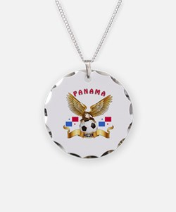 Panama Football Design Necklace