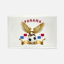 Panama Football Design Rectangle Magnet