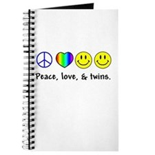 Peace, Love, & Twins Journal