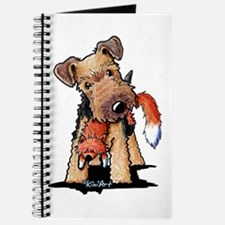 Welsh Terrier With Fox Journal