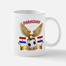 Paraguay Football Design Mug