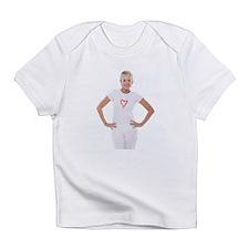 Happy senior woman - Infant T-Shirt