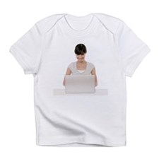 Laptop use - Infant T-Shirt