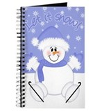 Snowflake journals Journals & Spiral Notebooks