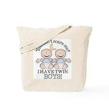 Twin boys Tote Bag