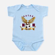 Qatar Football Design Infant Bodysuit