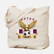 Qatar Football Design Tote Bag