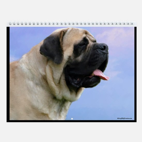 Mastiff Adult A Wall Calendar
