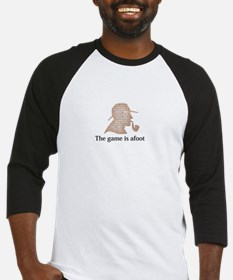 the game is afoot Sherlock Holmes mystery tee Base