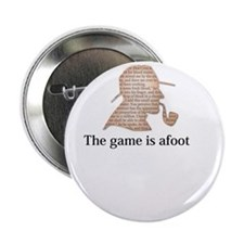 the game is afoot Sherlock Holmes mystery tee 2.25
