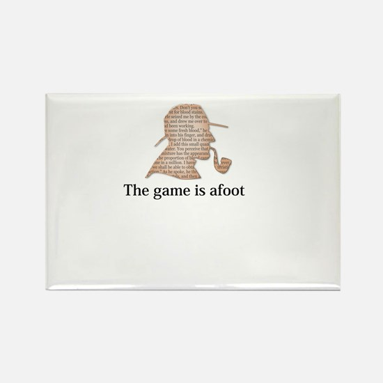 the game is afoot Sherlock Holmes mystery tee Rect