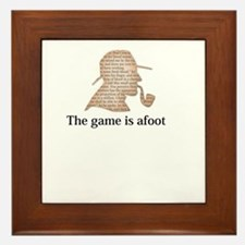 the game is afoot Sherlock Holmes mystery tee Fram