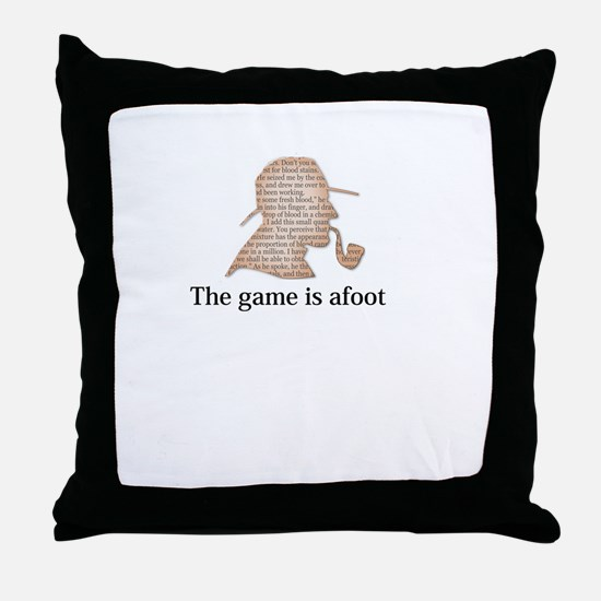the game is afoot Sherlock Holmes mystery tee Thro