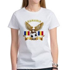 Romania Football Design Tee